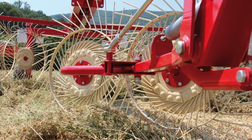 Hydraulic Central Wheels