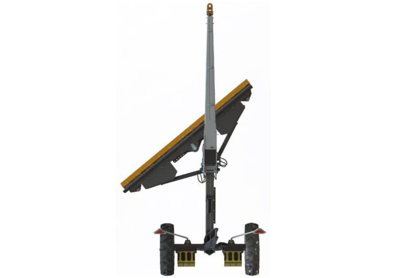 Hydraulic Blade Rotation